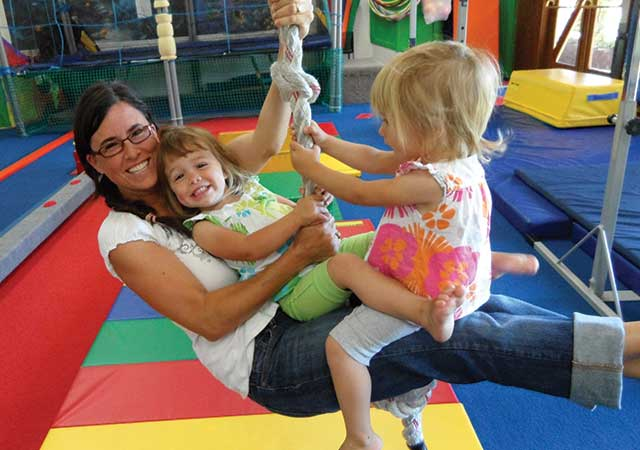Swing in to fun at JuneBug's Gym